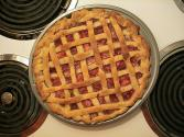 Rhubarb-orange Pie