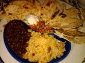 Rice And Beans With Cheese
