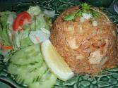Rice With Cucumber