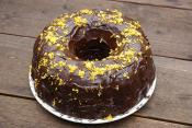 Eggless Date Nut Ring Cake