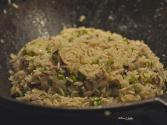 Risotto With Asparagus And Shiitake Mushrooms