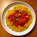 Risotto With Tomatoes And Beans
