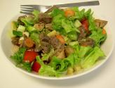 Roast Meat Salad