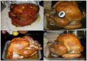 Roast Turkey Breast With Spinach Stuffing