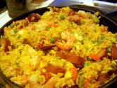 Saffron Rice Stuffing With Sausage