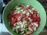 Fruity Twenty Four Hour Salad