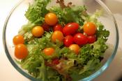 Bibb Lettuce And Cherry Tomato Salad