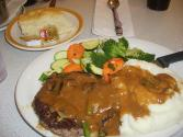 Mushroom Salisbury Steak