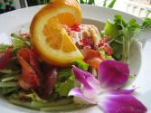 Salmon Salad With Oranges