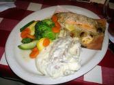 Salmon Steaks In Dill Sauce