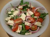Santorini Salad With Feta