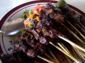 Polynesian Pork Sate