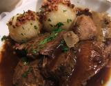 Round Steak Sauerbraten With Wine Vinegar
