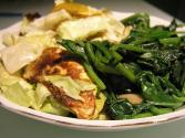 Sauteed Cabbage And Spinach