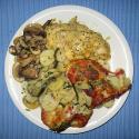 Sauteed Potatoes With Chicken And Mushrooms