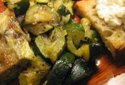 Zucchini Sauteed With Fennel
