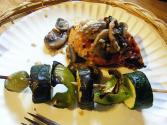 Sauteed Zucchini And Green Peppers