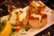 Flaky Scallop Appetizers