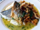 Sea Bass With Celeriac