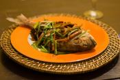 Sea Bream In Mild