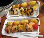 Sea Food Kabobs