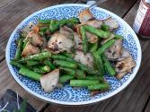 Seafood And Asparagus Stir Fry