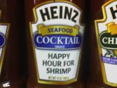 Shrimp With Peppy Cocktail Sauce