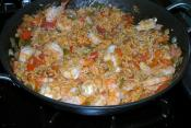 Wild Rice Shrimp Creole