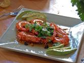 Shrimp In Parsley Sauce