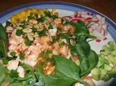Shrimp In Pumpkin Seed Sauce