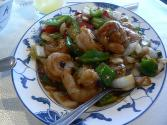 Stir Fried Shrimp With Black Bean Sauce