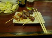 Skewered Japanese Pork