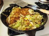 Skillet Ground Veal  N  Cabbage