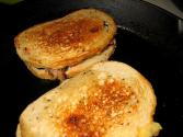 Skillet Cheese Sandwich