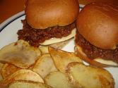 Sloppy Joe Topped Potatoes