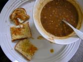 Toast-and-cabbage Soup