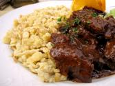 German Meatballs With Spaetzle