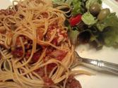 Turkey N Spaghetti Summer Salad