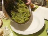 Spaghetti With Perfect Pesto