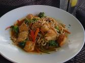 Spicy Peanut Noodles And Vegetables