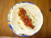 Spicy Pinto Bean Burritos