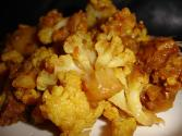 Spicy Stir Fried Cauliflower