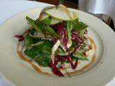 Golden Apple-spinach Salad