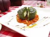 Cheese Spinach Souffle Roll
