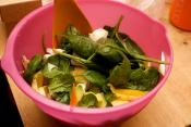 Spinach-and-orange Salad