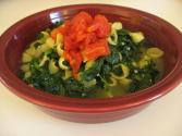 Spinach Pasta Soup