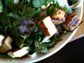 Spinach Salad With Tofu Dressing