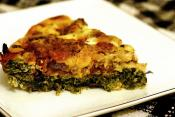 Spinach Sausage Pie