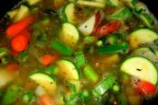 Spoon Up Fresh Vegetable Soup