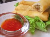 Ground Turkey Chinese Spring Rolls